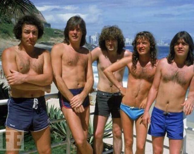 ACDC Janvier 1985 festival Rock in Rio