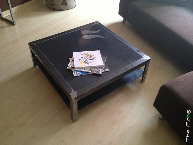 Creation meubles acier - The Frog Creation-12