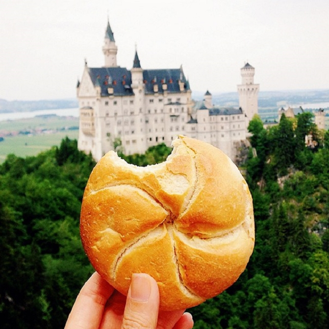 Simple breadroll, Germany