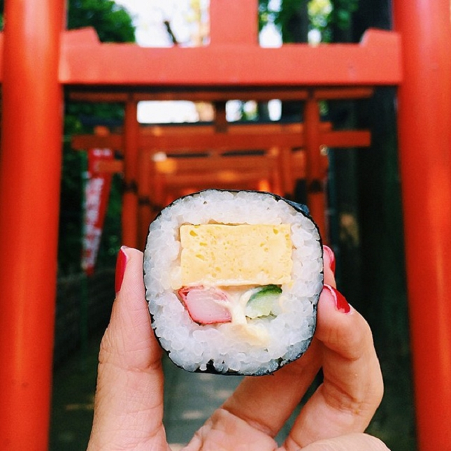 Sushi roll, Japon