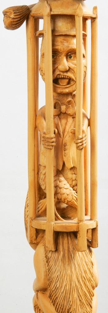 Sculpture-canne-baton-taille-direct-Pierre-Damiean-2