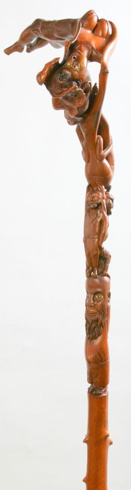 Sculpture-canne-baton-taille-direct-Pierre-Damiean-3