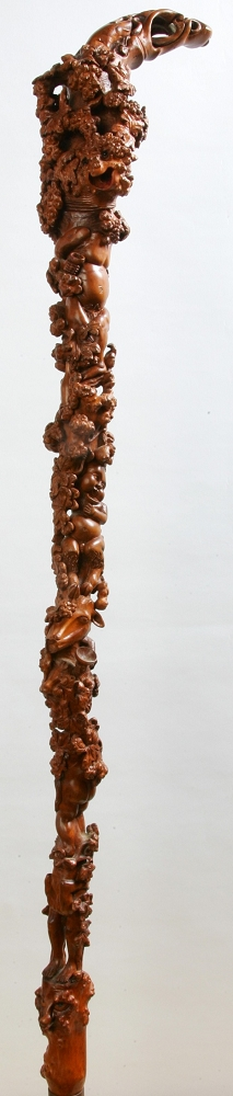 Sculpture-canne-baton-taille-direct-Pierre-Damiean-5
