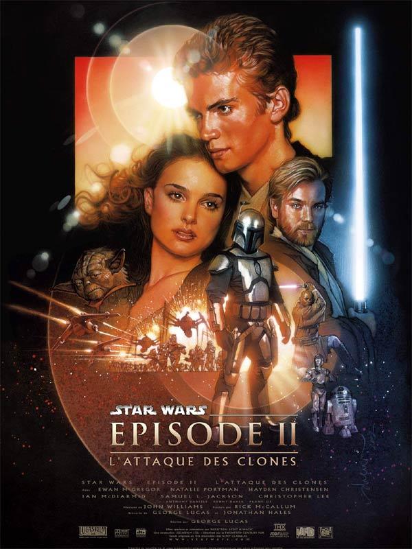 L'Attaque des clones de George Lucas, sorti en 2002