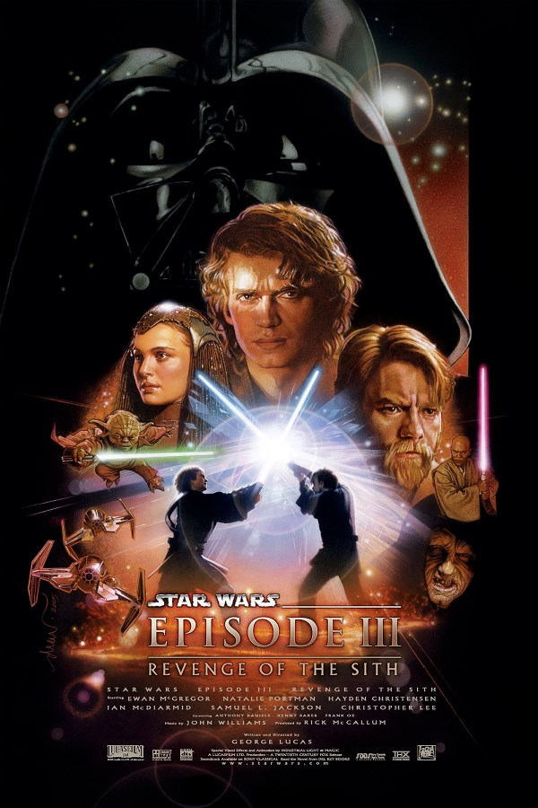 La Revanche des Sith de George Lucas, sorti en 2005