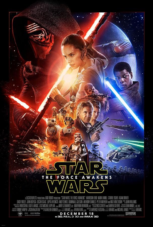 Le Réveil de la Force de J. J. Abrams, sorti en 2015