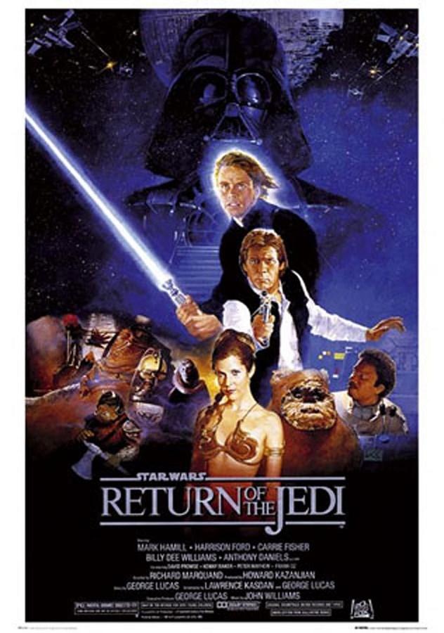 Le Retour du Jedi de Richard Marquand, sorti en 1983